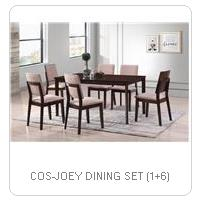COS-JOEY DINING SET (1+6)